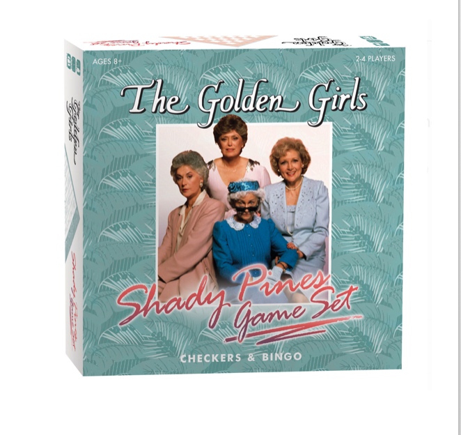 Golden Girls Shady Pines Game Set (checkers and bingo)