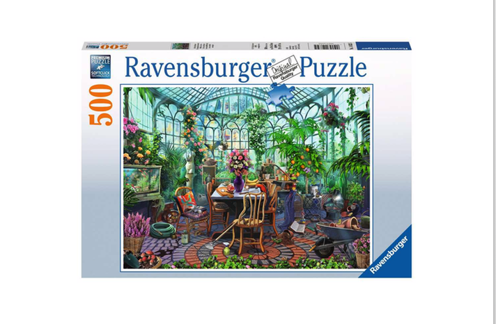 Greenhouse Morning - 500 piece