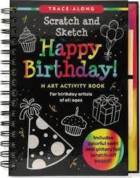 Happy Birthday Scratch and Sketch