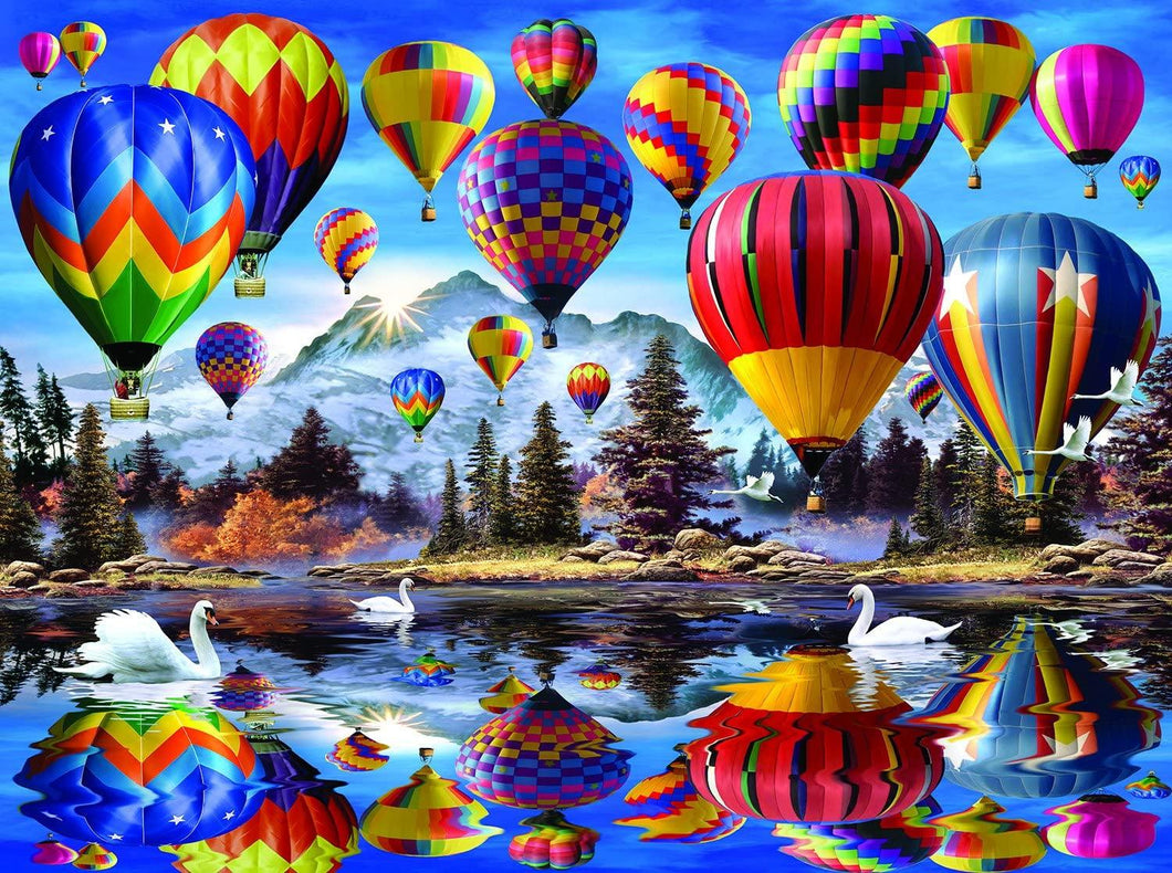 Hot Air Balloons - 1000 piece