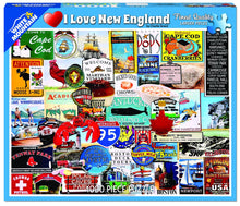 Load image into Gallery viewer, I Love New England - 1000 piece