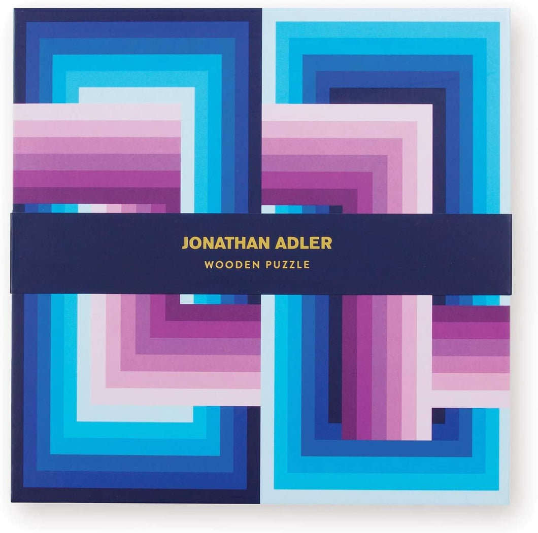 Jonathan Adler: Infinity Wood Jigsaw Puzzle  - 22 piece