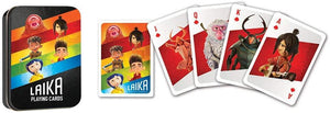 Laika Studios Playing Cards Tin
