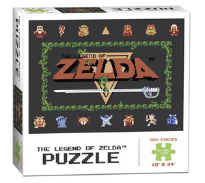 Legend of Zelda Hyrule Map - 500 piece