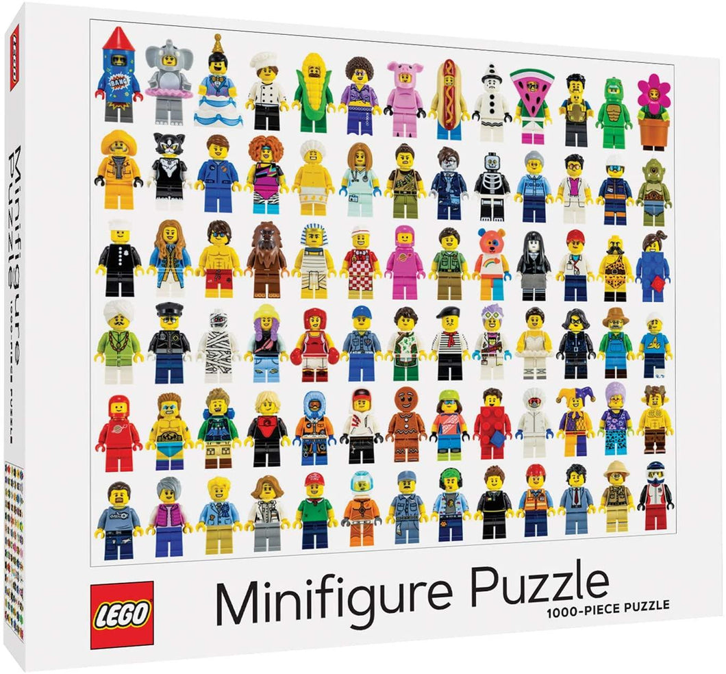 Lego Mini Figure Puzzle - 1000  piece