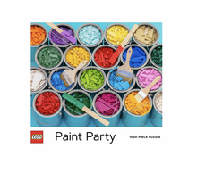 Load image into Gallery viewer, Lego Paint Party - 1000 piece