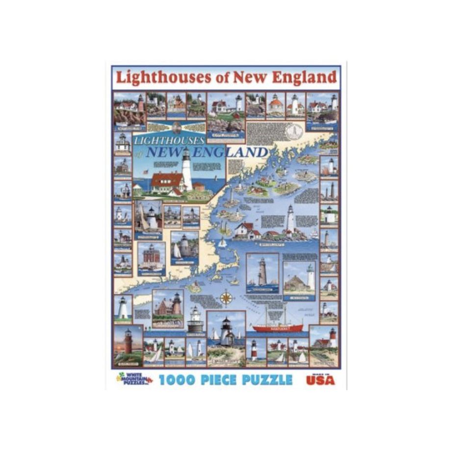 Lighthouses of New England - 1000 piece