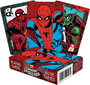 Marvel Spiderman Comic Playing Cards