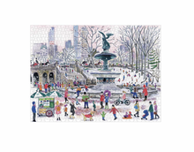 Load image into Gallery viewer, Michael Storrings Bethesda Fountain - 1000 piece