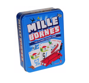 Mille Bourne Racing Card Game in Tin