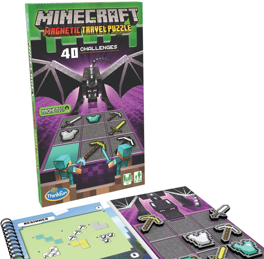 Minecraft Magnetic Travel Puzzle Game