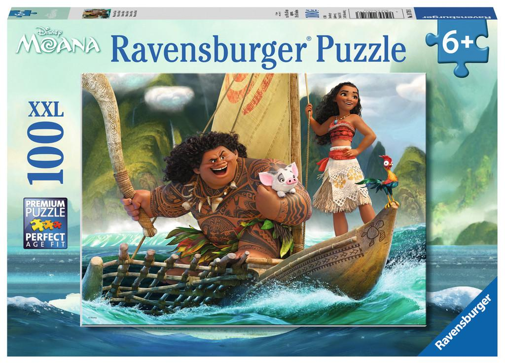 Moana and Maui - 100 piece