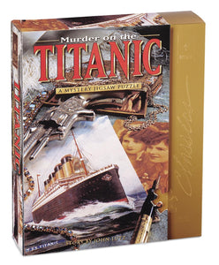 Murder on Titanic Mystery puzzle - 1000 piece