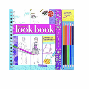 My Fabulous Look Book: Fashion Drawing Made Easy Book