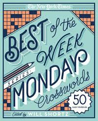 NYT Best of the Week Series: Monday