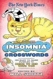 NYT Insomnia Crosswords: 150 Easy to Hard Puzzles
