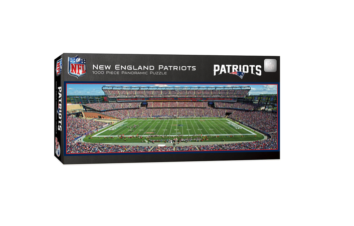 New England Patriots Panoramic - 1000 piece