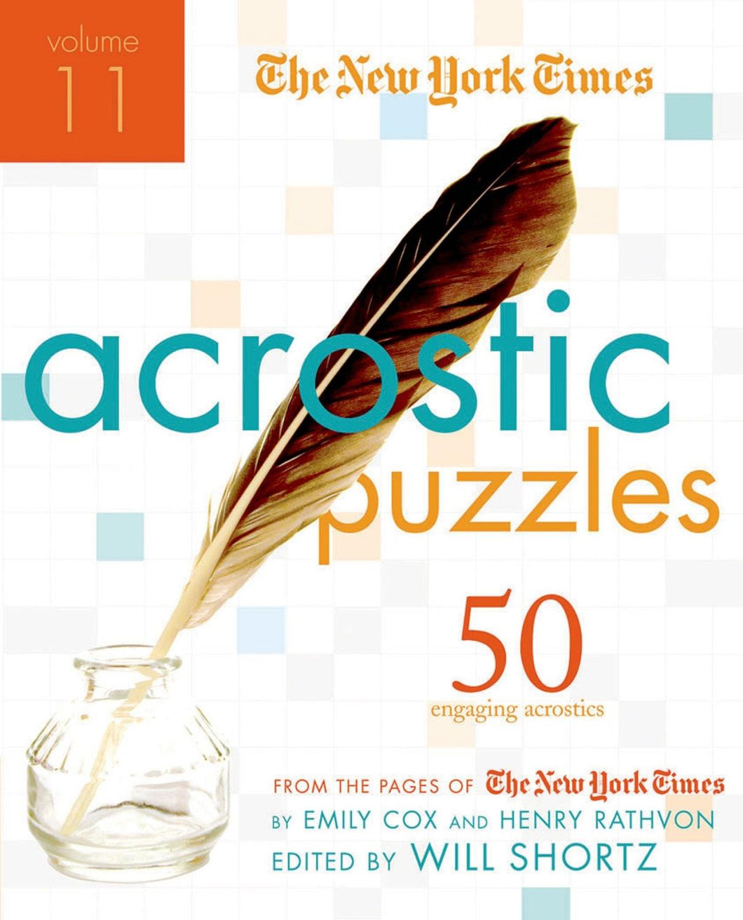 New York Times Acrostic Puzzles Volume 11