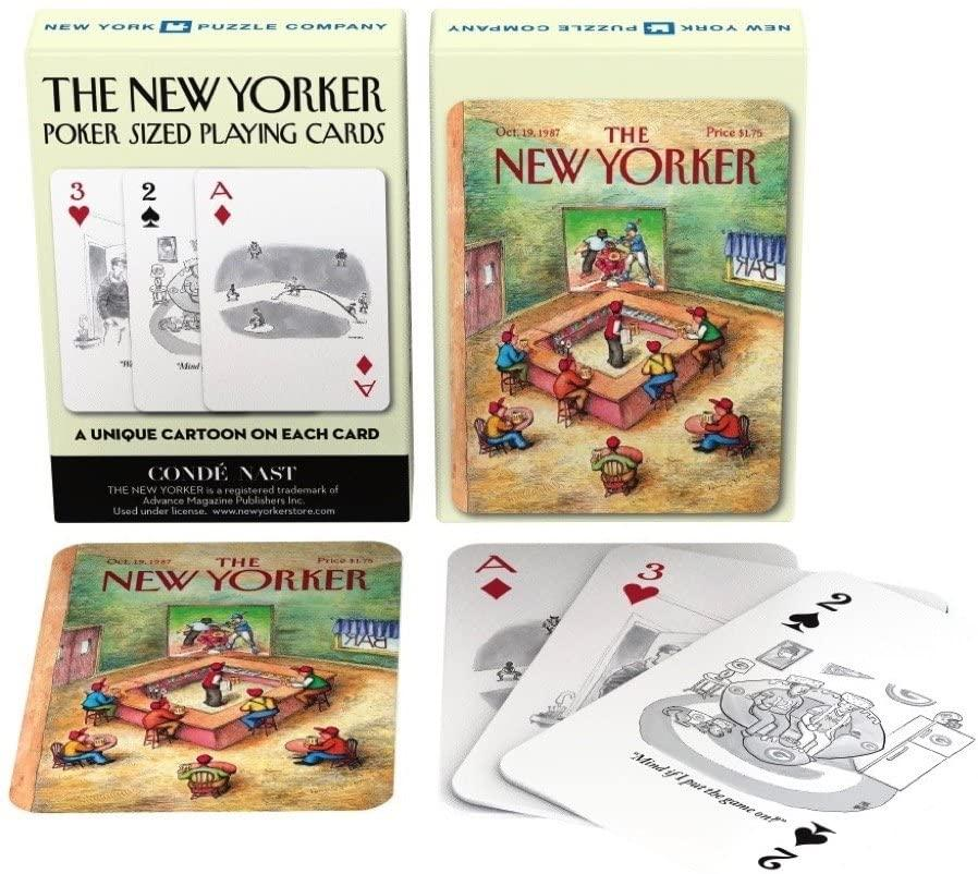 New Yorker Sports Cartoon Playing Cards