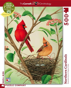 Northern Cardinal - 500 piece