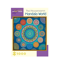 Load image into Gallery viewer, Paul Heussenstamm: Mandala World - 1000 piece