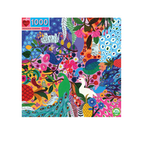 Load image into Gallery viewer, Peacock Garden - 1000 piece