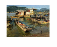 Load image into Gallery viewer, Pearl River Village - 500 piece
