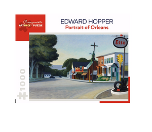 Edward Hopper: Portrait of Orleans - 1000 piece