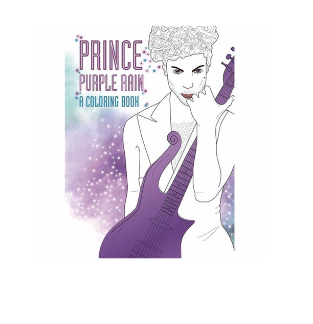 Prince Purple Rain Coloring Book