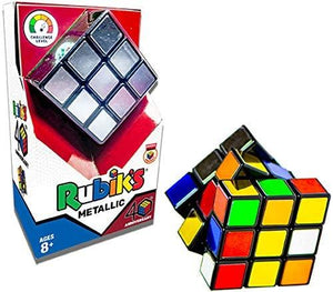 Rubiks 3 X 3 Metallic (40th Anniversary)