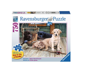 Ruff Day - 750 piece (large piece size)