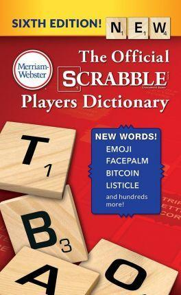 Scrabble Dictionary 6th  Edition Official Players