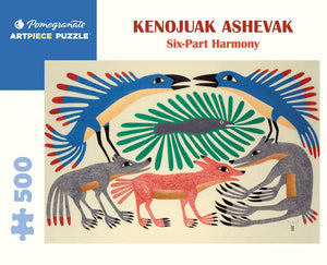 Six-Part Harmony - 500 piece by Kenojuak Ashevak