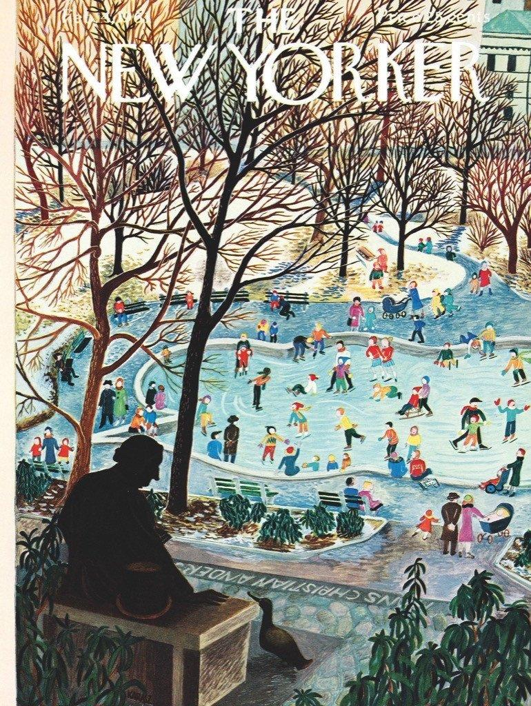 Sledding in the Park - 500 piece