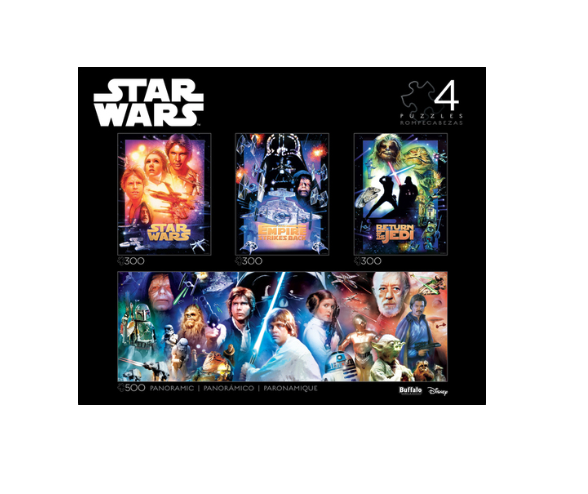 Star Wars 4-in-1 Puzzle Pack