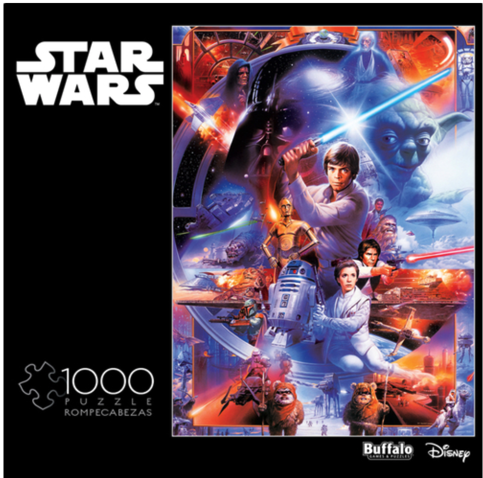 Star Wars: I Find Your Lack of Faith Impressive - 1000 piece