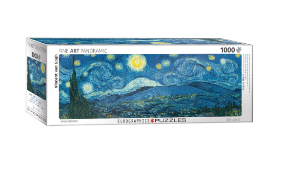 Starry Night panoramic - 1000 piece