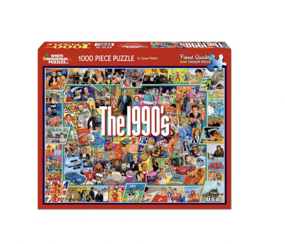 The 1990's - 1000 piece