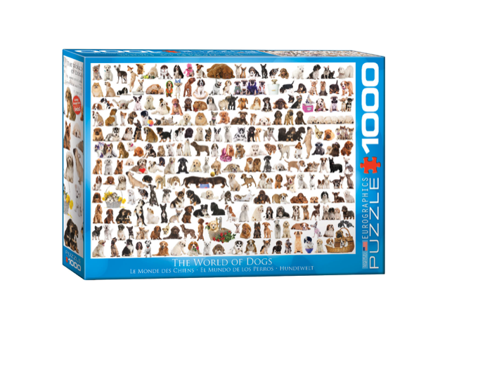 The World of Dogs - 1000 piece
