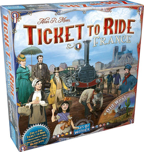 Ticket to Ride France & Old West Expansion
