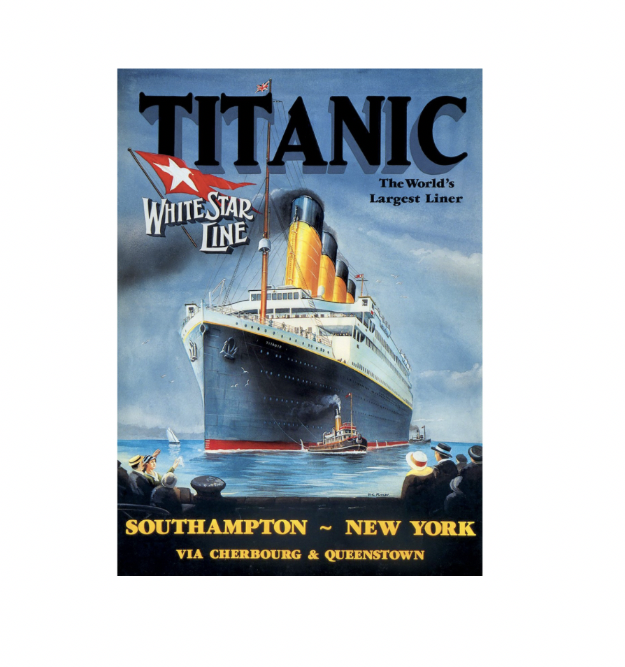 Titanic White Star Line - 1000 piece