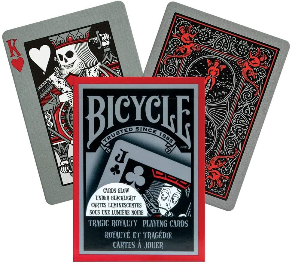 Tragic Royalty playing cards by Bicycle