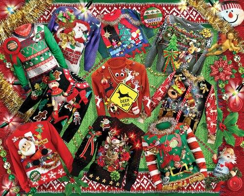 Ugly Christmas Sweaters - 1000 piece