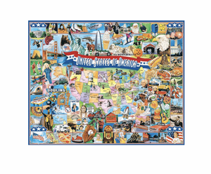 United States of America - 1000 piece