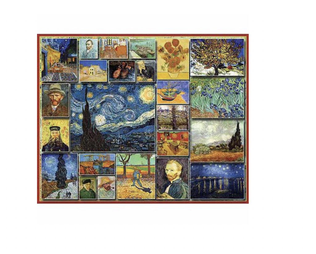Vincent Van Gogh - 1000 piece