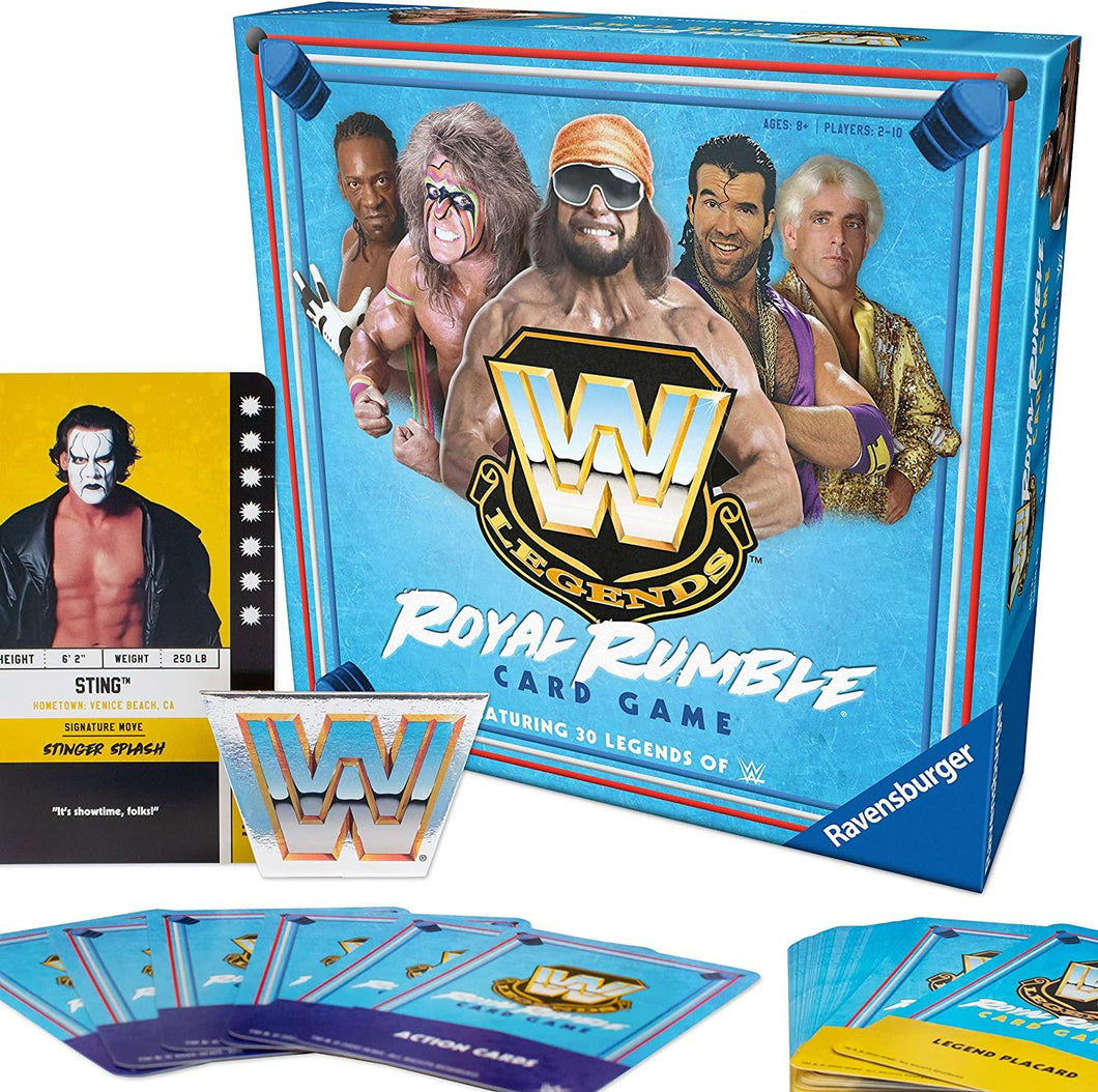 WWE Legends: Royal Rumble Card Game