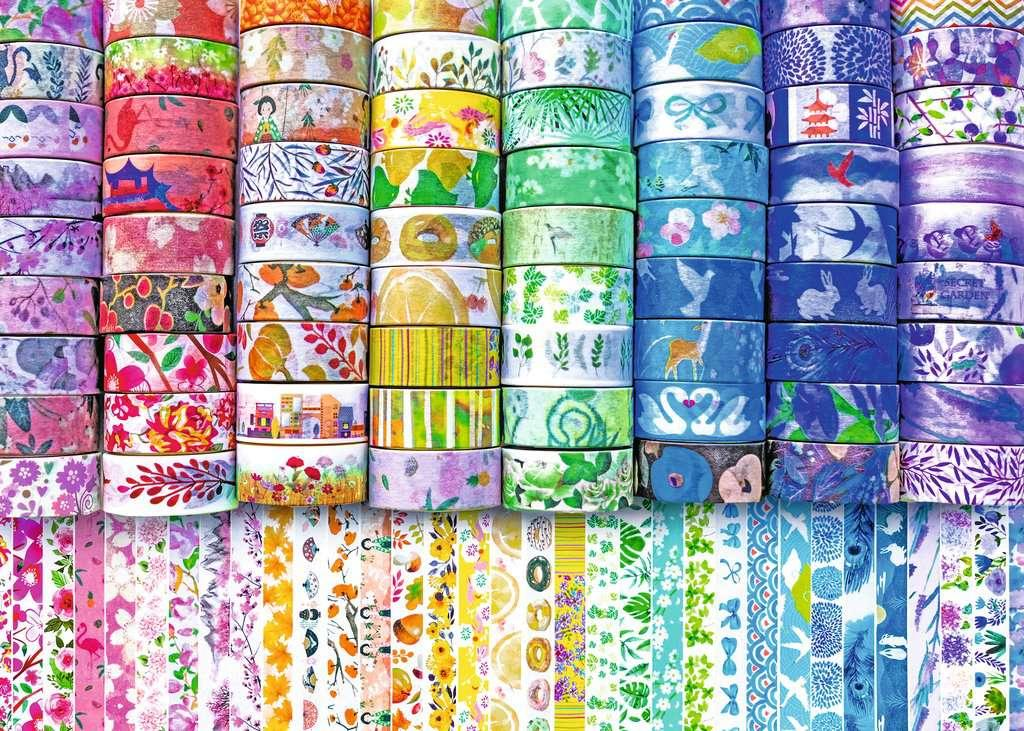 Washi Wishes - 300 piece (large piece sizes)