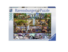 Load image into Gallery viewer, Wild Kingdom Shelves - 2000 piece