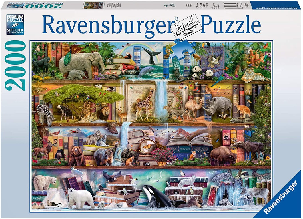 Wild Kingdom Shelves - 2000 piece