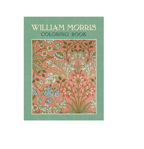 William Morris Coloring Book